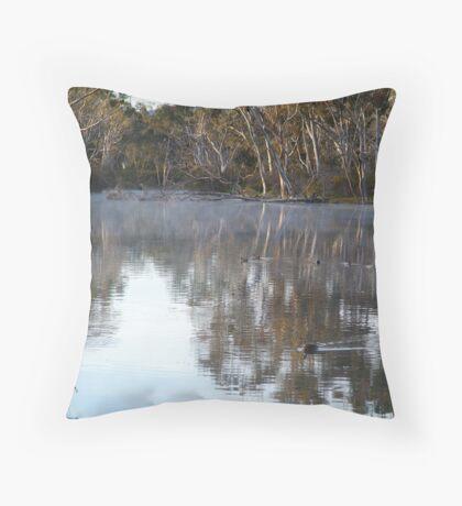 Pleasant Creek, Stawell Throw Pillow