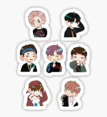 BTS Mini (YNWA) Set Sticker