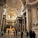 Inside the Pantheon - Paris France by Norman Repacholi