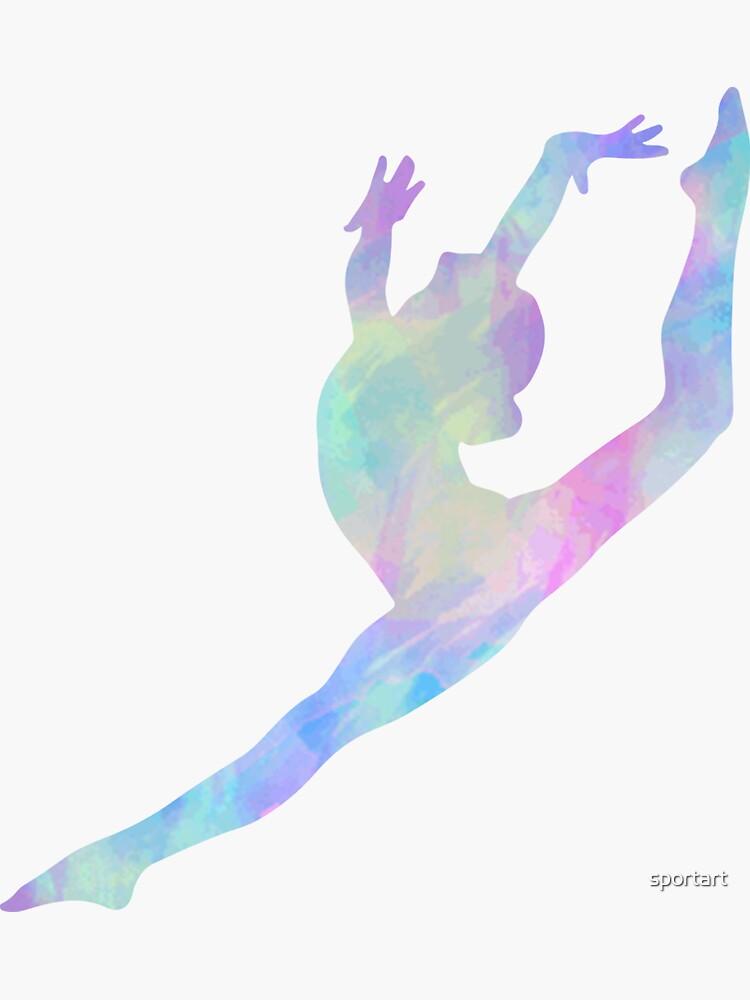 Salto de gimnasia de sportart