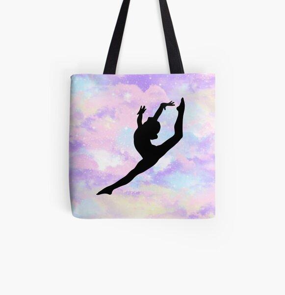 Embroidered Gymnastics Bag GYMNASTICS backpack Gymnast drawstring Bag Gymnastics gift Gymnastics mom tote