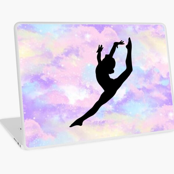 Gymnastics Leap Laptop Skin
