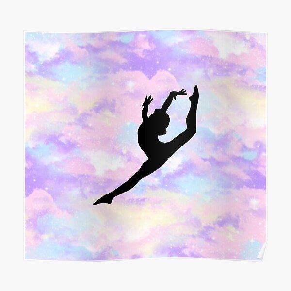 Gymnastics Leap Poster