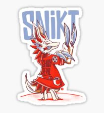 SNIKT! Sticker