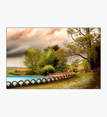 S. Enea - Umbria Photographic Print