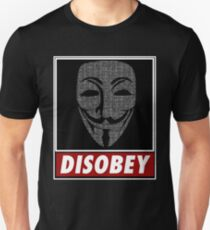 Binairy Vendetta: Disobey T-Shirt