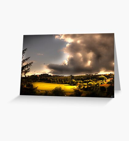 Umbria Hills Greeting Card