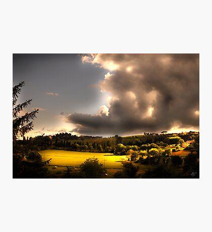 Umbria Hills Photographic Print