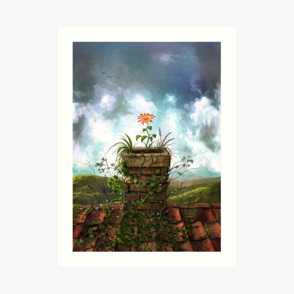 The Flowerpot Art Print