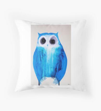 Stability Owl Throw Pillow