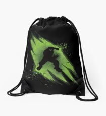 Power of Anger Drawstring Bag