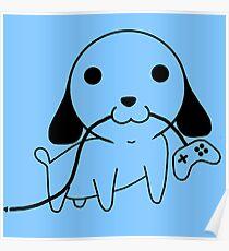 Gamepad Puppy Poster
