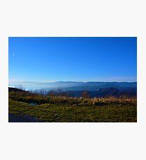Mist on the coast Photographic Print