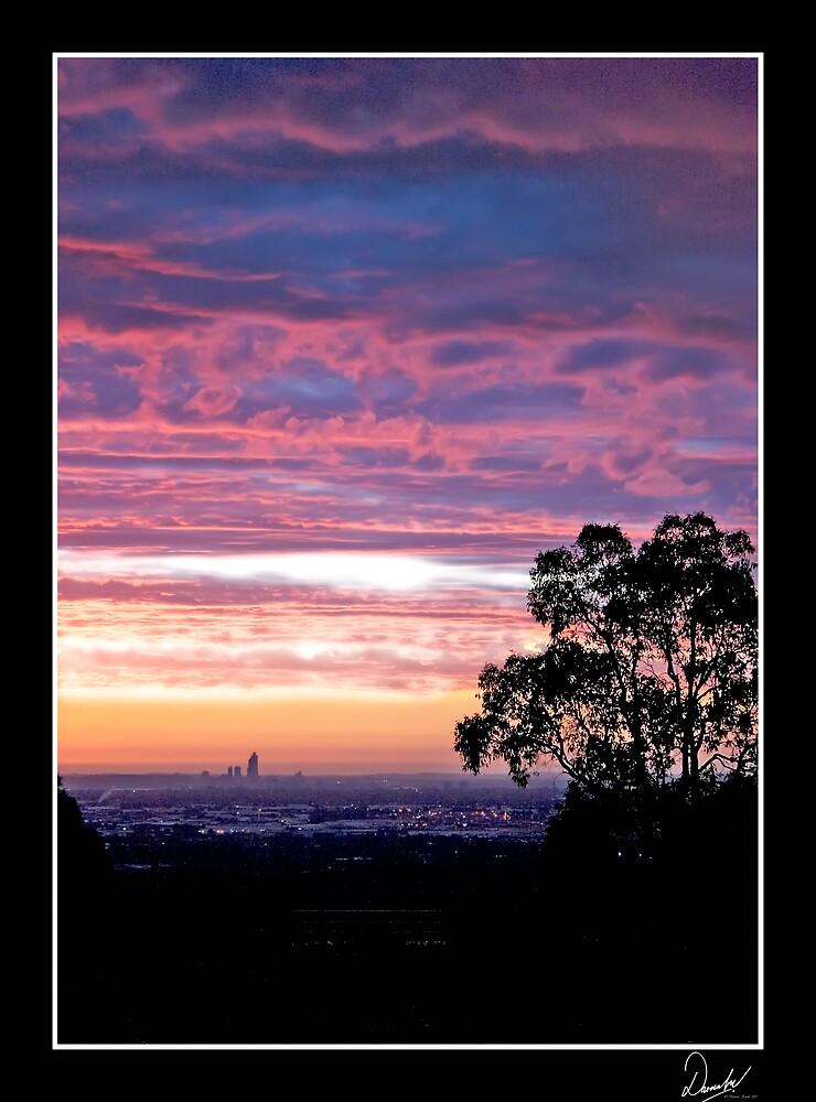 Blue Sunset by Darren Kwok