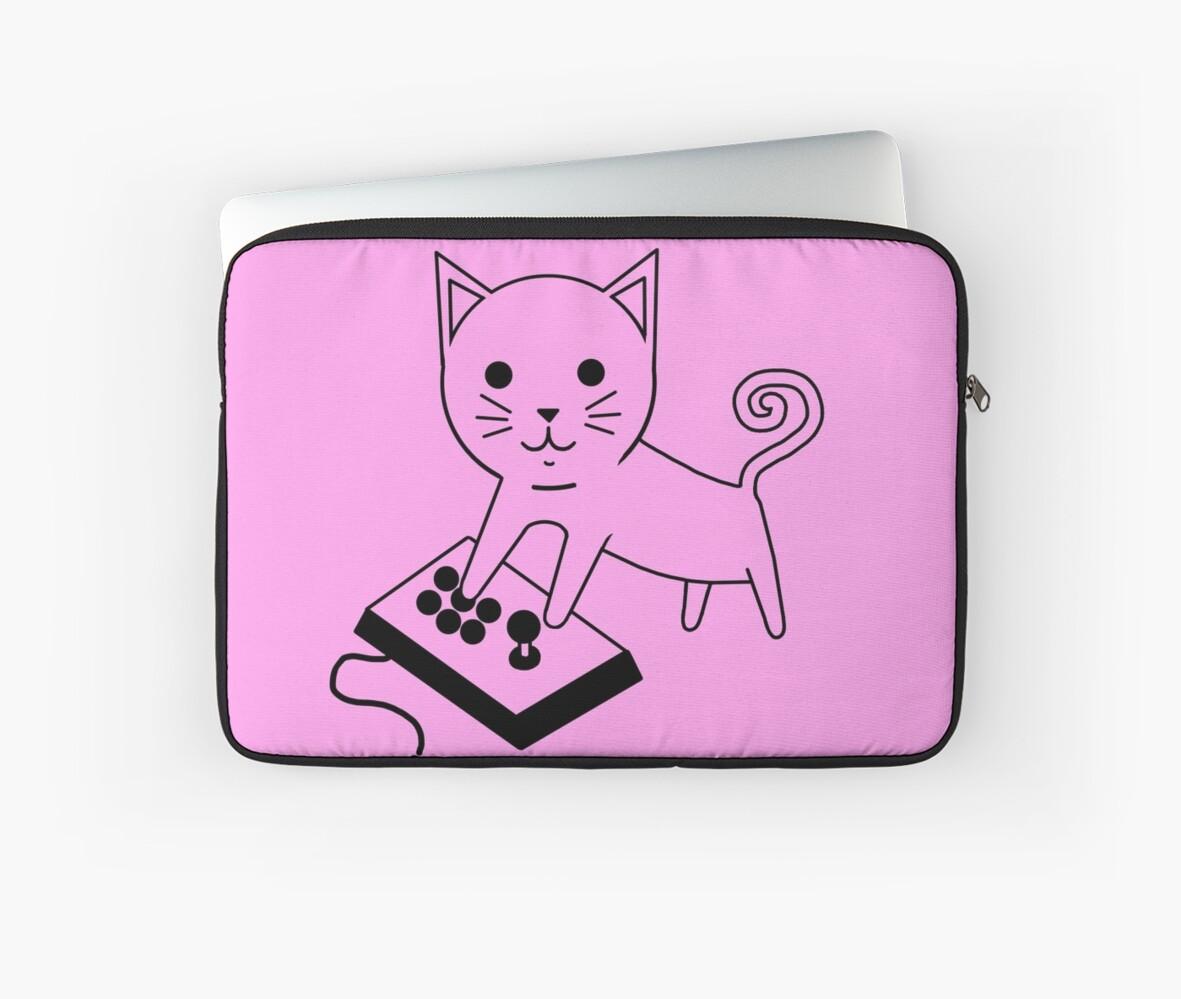 Arcade Kitten by PengewApparel