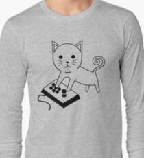 Arcade Kitten Long Sleeve T-Shirt