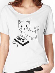Arcade Kitten Women's Relaxed Fit T-Shirt