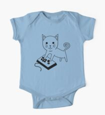 Arcade Kitten One Piece - Short Sleeve