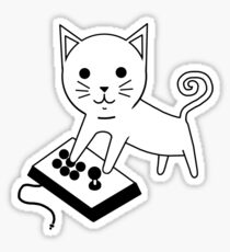 Arcade Kitten Sticker