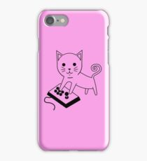 Arcade Kitten iPhone Case/Skin