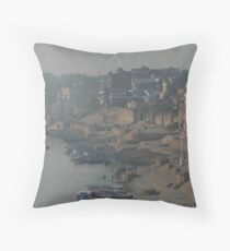 Varanasi Throw Pillow