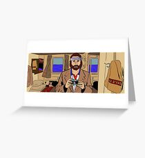 Richie Tenenbaum of The Royal Tenenbaums Greeting Card