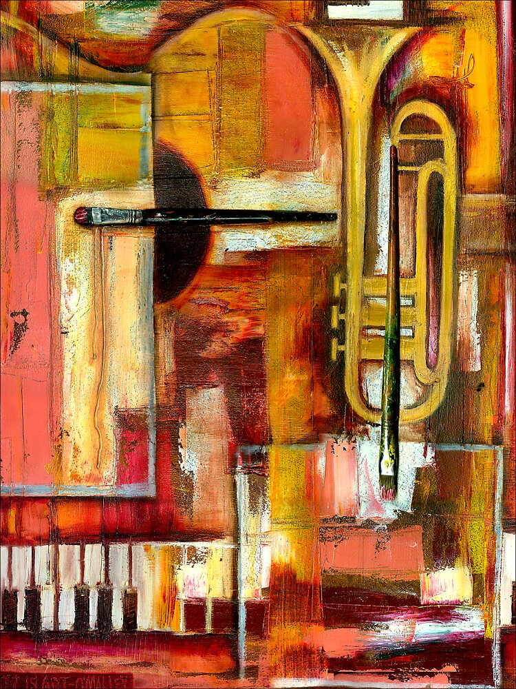"""""""Jazz is Art, Art is Jazz"""" by Leith"""