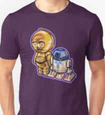 """""""DROID LOVE"""" POOTERBELLIES Unisex T-Shirt"""