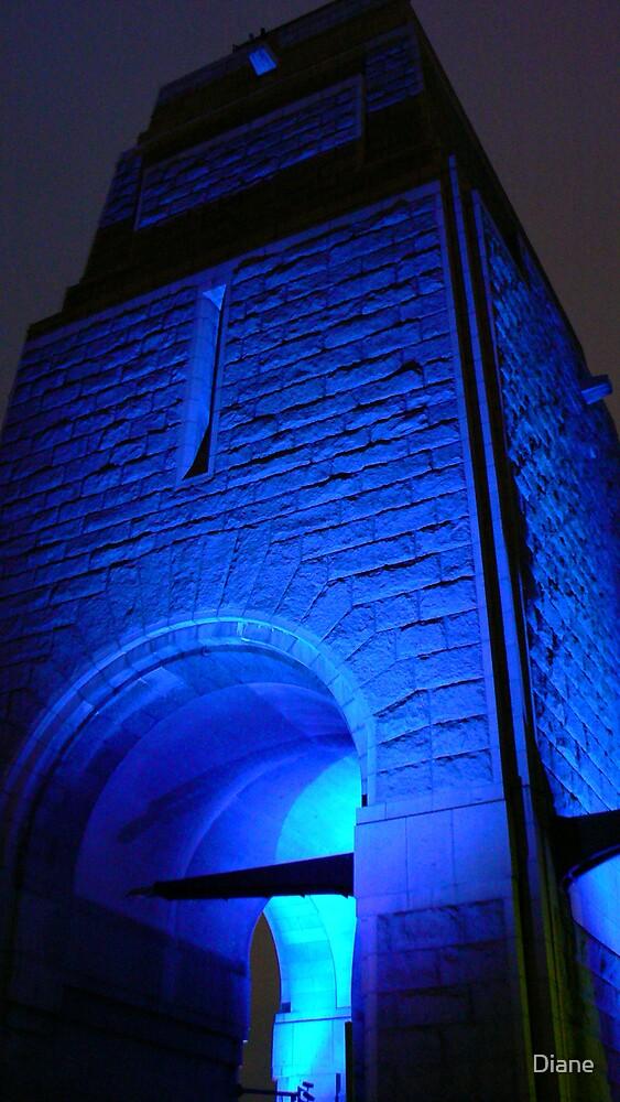 Blue Bridge by Diane