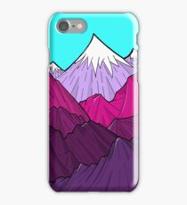 The Purple Mounts iPhone Case/Skin