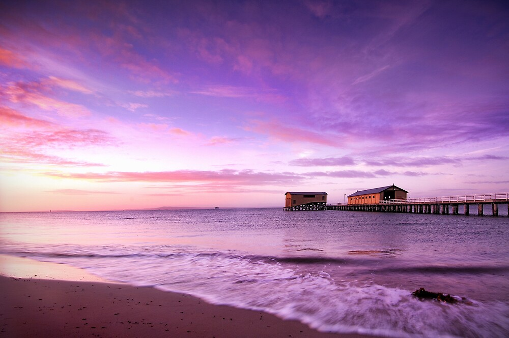 Queenscliff pier by Alex Lau