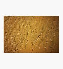 Sand texture Photographic Print