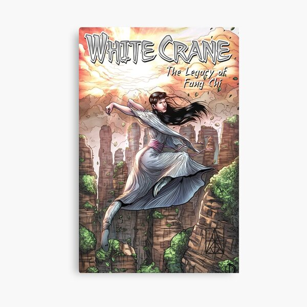 WHITE CRANE – The Legacy of Fang Chi, Vol 2 Canvas Print