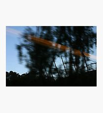 Passing the MCG by train Photographic Print