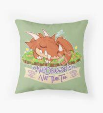 Napdragon's Nap Time Tea [Fantasy Life] Throw Pillow