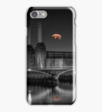 Battersea pink floyd edit iPhone Case/Skin