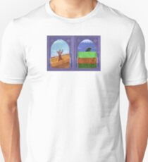 Drought icons on a shirt Unisex T-Shirt