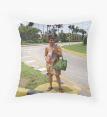 Hitchin' Havana Style Throw Pillow