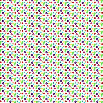 Retro Geometric Pattern by sjrollings