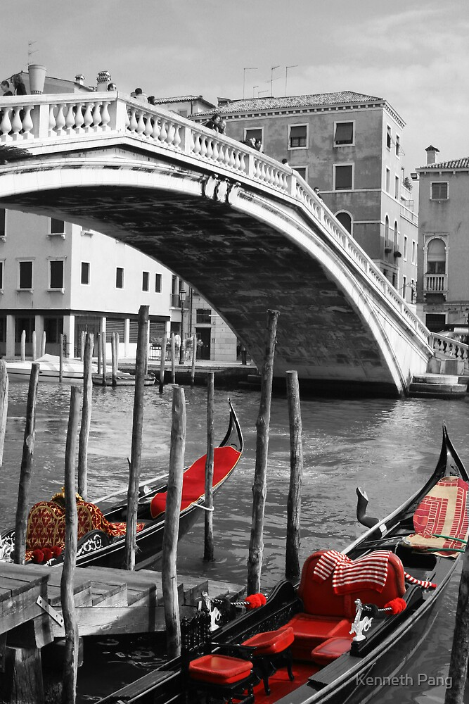 Venice Red by Kenneth Pang