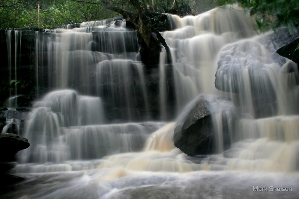 Somersby Falls 2 by Mark Snelson