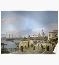 Canaletto - Entrance To The Grand Canal From The Molo, Venice Poster