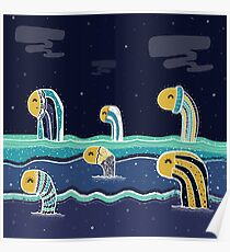 The Woolies: Monsters who Hide and Seek in the Sea Poster
