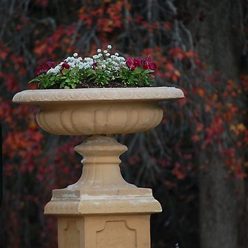 Sandstone planter by absalom
