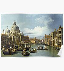 Canaletto - The Entrance To The Grand Canal, Venice Poster