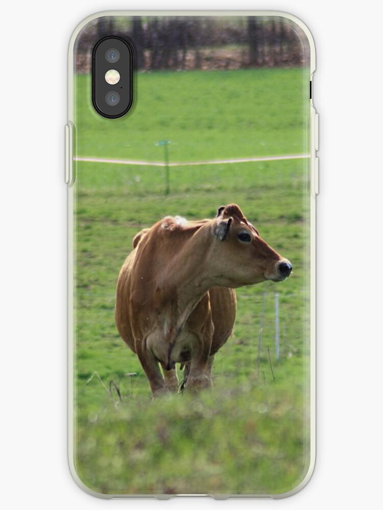 coque iphone xs max vache