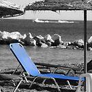 Beach Umbrella 2 by Kenneth Pang