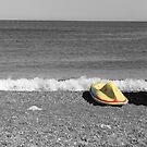 Beach Umbrella 3 by Kenneth Pang