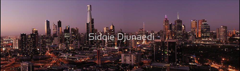 Melbourne Sunset by Sidqie Djunaedi