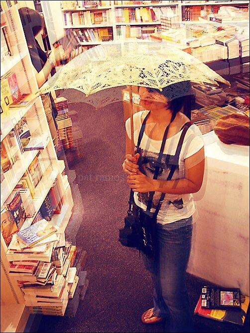 Umbrella Girl. by Pat Ramos